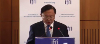 H.E Yang Jiechi, State Councilor of the People's Republic of China. Ifri, 14 April 2016.