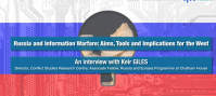 Russia and Information Warfare: Aims, Tools and Implications for the West