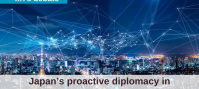 Japan's proactive diplomacy in cybersecurity and data governance
