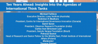 Ten Years Ahead: Insights Into the Agendas of International Think Tanks