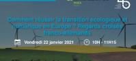 Comment réussir la transition écologique et numérique en Europe ? Regards croisés franco-allemands