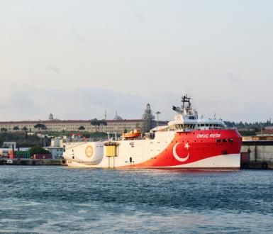 Oruç Reis, Turkish Exploration Vessel