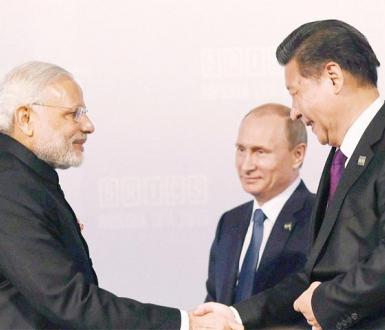 Poutine Xi Jinping Modi
