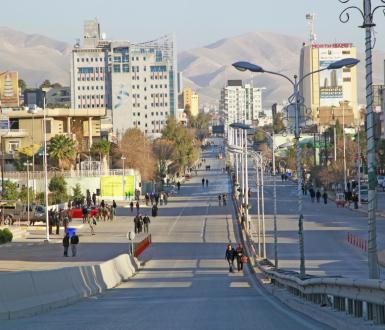 Suleymaniye, Irak, décembre 2012