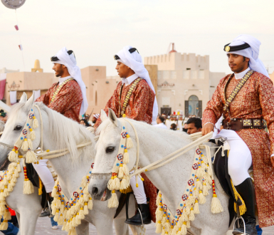 DOHA/QATAR - DECEMBER 18: Qatar National Day