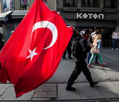 Manifestations en Turquie