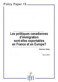 Les politiques canadiennes d'immigration sont-elles exportables en France et en Europe ?