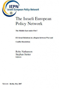 European Views of the Israeli-Palestinian Conflict: The Contribution of Member States to the Framing of EU Policies
