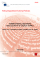 International Relations and Security of Energy Supply: Risks to Continuity and Geopolitical Risks