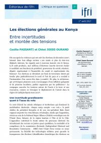 Couverture Actuelle Kenya