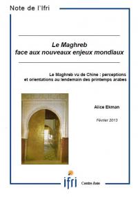 Le Maghreb vu de Chine : perceptions et orientations au lendemain des printemps arabes