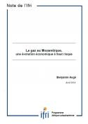 Le gaz au Mozambique, une évolution économique à haut risque