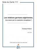 Les relations germano-algériennes. Une relance par la coopération énergétique ?