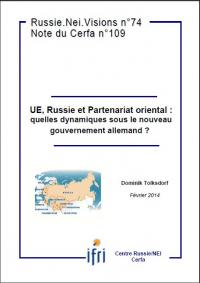 UE, Russie et Partenariat oriental : quelles dynamiques sous le nouveau gouvernement allemand ?