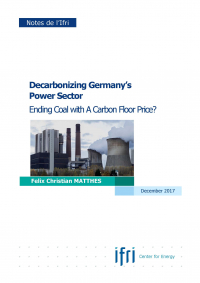 Decarbonizing Germany's Power Sector: Ending Coal with a Carbon Floor Price?