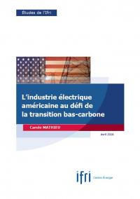 Couverture étude US électricité