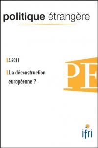 La déconstruction européenne?