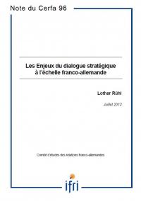 Les enjeux du dialogue stratégique à l'échelle franco-allemande