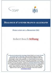 Dialogue d'avenir franco-allemand : Publications de la promotion 2012