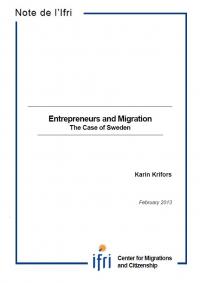 Entrepreneurs and Migration: The Case of Sweden