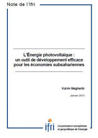 L'Énergie photovoltaïque: un outil de développement efficace pour les économies subsahariennes