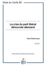 La crise du parti libéral allemand