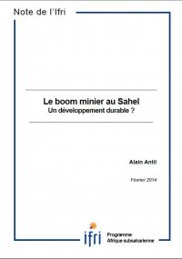 Le boom minier au Sahel. Un développement durable ?