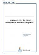 L'Europe et l'Énergie : un contrat à refonder d'urgence