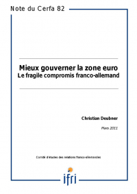 Mieux gouverner la zone euro : le fragile compromis franco-allemand