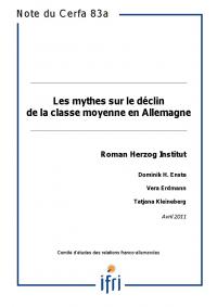 Les mythes sur le déclin de la classe moyenne en Allemagne