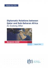 Couverture Qatar Afrique en anglais