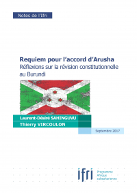Couverture note Accord Arusha