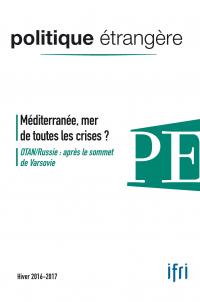 Couverture de Politique étrangère, n° 4, hiver 2016-2017