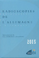 Radioscopies de l'Allemagne 2005