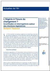 L'Algérie à l'heure du changement? Incertitudes et interrogations autour des élections législatives