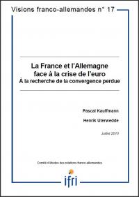 La France et l'Allemagne face à la crise de l'euro : A la recherche de la convergence perdue