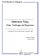 Deterrence Today. Roles, Challenges and Responses