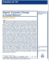 Algeria: Cosmetic Change or Actual Reform?