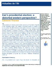 Iran's Presidential Election: a Distorted Western Perspective?