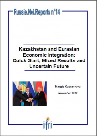 Kazakhstan and Eurasian Economic Integration: Quick Start, Mixed Results and Uncertain Future