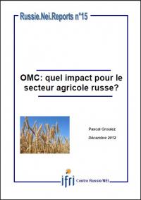 OMC: quel impact pour le secteur agricole russe ?