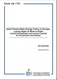 Solar Photovoltaic Energy Policy in Europe: Losing Sight of What is Right