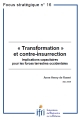 « Transformation » et contre-insurrection : Implications capacitaires pour les forces terrestres occidentales