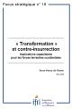 « Transformation » et contre-insurrection : Implications capacitaires pour les forces terrestres occidentales
