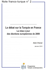 Le débat sur la Turquie en France : La mise à jour des élections européennes de 2009