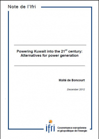 Powering Kuwait into the 21st Century: Alternatives for Power Generation