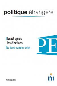 Politique étrangère, vol. 78, n° 1, printemps 2013