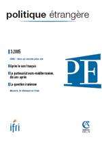 Politique Etrangère : vol. 70, n° 3 (automne 2005)