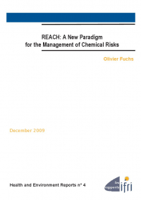 REACH. A new paradigm for the management of chemical risks.