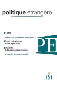 Politique étrangère : vol. 75, n° 1 (printemps 2010)